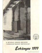 A KPVDSZ Vörös Meteot Természetbarát Egyesület Évkönyve 1977.
