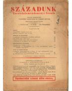 Századunk 1930. december V. évf. 10. szám