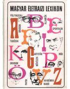 Magyar életrajzi lexikon 1978-1991 A-Z