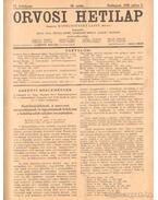 Orvosi hetilap 1930. (fél évfolyam)