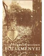 A Veszprém megyei múzeumok közleményei 18. 1986
