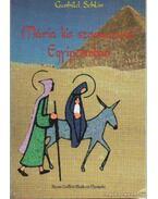 Mária kis szamarával Egyiptomban