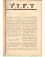 Élet 1927. XVIII. évfolyam (teljes)