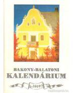 Bakony-Balatoni kalendárium 2000