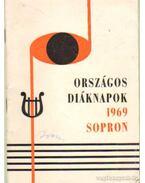 Országos diáknapok 1969 Sopron