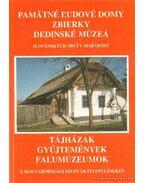 Tájházak, gyűjtemények, falumúzeumok a magyarországi szlovák településeken (szlovák nyelvű)
