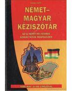 Német-magyar kéziszótár