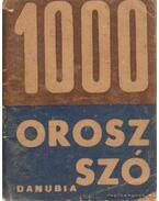 1000 orosz szó