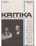 Kritika 1976-77. (hiányos) - Pándi Pál