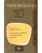 Az olvasástanítás pszichológiai alapjai
