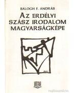 Az erdélyi szász irodalom magyarságképe