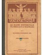 Énekeskönyv az elemi népiskolák VI. osztálya számára