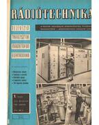 Rádiótechnika 1967. évfolyam (hiányos)