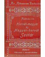 Horvát-magyar és magyar-horvát Szótár