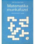 Matematika munkafüzet általános iskola 4. osztály