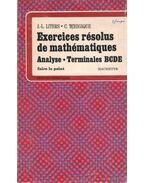 Exercices résolus de mathématiques