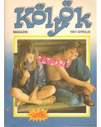 Kölyök magazin 1987. április