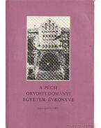 A pécsi orvostudományi egyetem évkönyve - 1977/1978 tanév