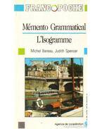 Mémento Grammatical L'Isogramme