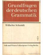 Grundfragen der deutschen Grammatik