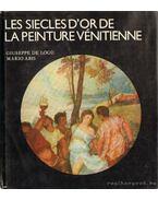 Les siecles d'or de la peinture vénitienne