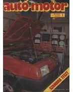 Autó-Motor 1989. (teljes évfolyam)