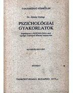 Pszichológiai gyakorlatok