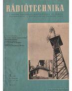 Rádiótechnika 1961. évfolyam (teljes)