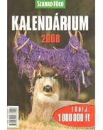 Szabadföld kalendárium 2008