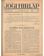 Jogi hirlap 1928. II. évfolyam 1-52. szám (teljes)