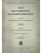 Atlas der Verbreitung Palaearktischer Vögel 1. (Atlasz a kőkorszaki madarak elterjedéséről 1.)