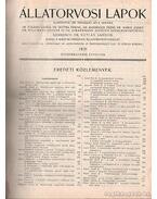 Állatorvosi lapok - 54. évfolyam 1931
