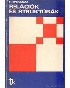 Relációk és struktúrák