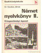 Német nyelvkönyv II. Közgazdasági ágazat