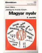 Magyar nyelv II. osztály