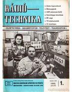 Rádiótechnika 1982. évfolyam (teljes)