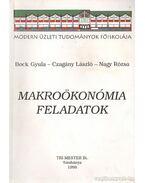 Makroökonómiai feladatok