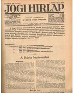 Jogi hirlap 1936. X. évfolyam 1-52. szám (teljes)