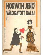 Horváth Jenő válogatott dalai II.
