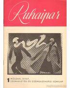 Ruhaipar 1975. 1.