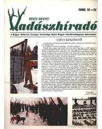 Békés megyei Vadászhíradó 1986. III-IV