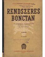 Rendszeres bonctan I-II. kötet