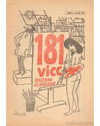 181 vicc rajzban és írásban