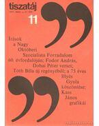 Tiszatáj 1977. november 31. évf. 11.