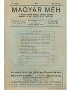 Magyar Méh 1930. LI. évfolyam (teljes), 1931. LII. évfolyam (töredék)