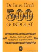 500 gondolat