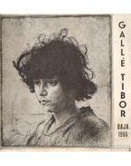 Gallé Tibor