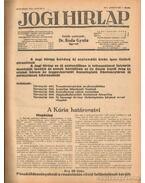 Jogi hirlap 1942. XVI. évfolyam 1-52. szám (teljes)