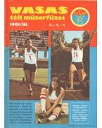 Vasas téli műsorfüzet 1981/III.