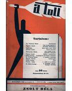 A toll I. évf. 30. sz. (1929. november 10.) - Zsolt Béla